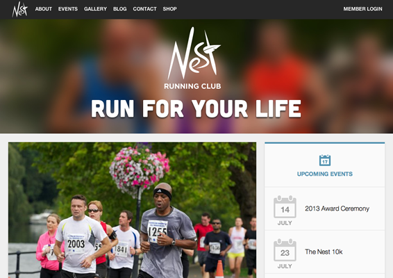 The Nest Running Club demo